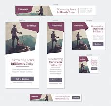 vacation outdoors tourism html5 banner ad templates by infiniweb screenshot1 jpg