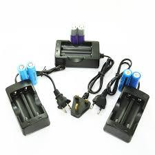18650 Lithium Battery <b>Charger</b> Smart Dual <b>Charge</b> Flashlight ...
