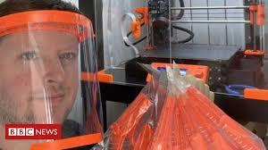 Coronavirus: <b>3D</b>-printer owners rally to create NHS <b>face masks</b> ...