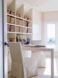 we love basket organizers because they are low tech and cheap and more importantly they work for a really easy home office design buy a simple console cheap office storage