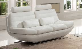 s818w sofa in white italian leather by pantek woptions awesome italian sofas