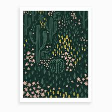 <b>Cactus Green</b> Art Print by Ani Vidotto - Fy