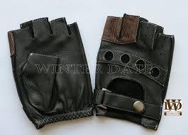 China Deerskin/Ethiopia/Sheep/<b>Genuine Leather Half Finger</b> ...