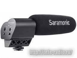Накамерный <b>микрофон Saramonic Vmic</b>
