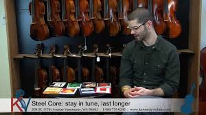 Different Kinds of <b>Violin Strings</b> - YouTube