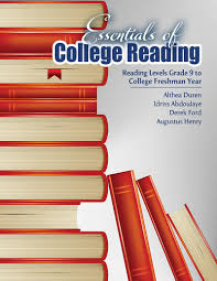 essentials of college reading reading levels grade 9 to college essentials of college reading reading levels grade 9 to college freshman year higher education