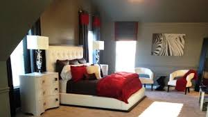 bedroom ideas decorating khabarsnet: stunning red black and white bedroom decorating ideas youtube