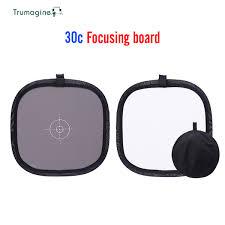 2019 <b>TRUMAGINE 30CM Portable</b> Gray Card Light Reflector White ...