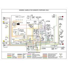mercury wiring diagram fully laminated poster kwikwire com mercury wiring diagram fully laminated poster image 1