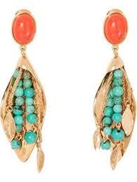 Shop Aurelie Bidermann 'Monteroso' earrings in Uzerai from the ...