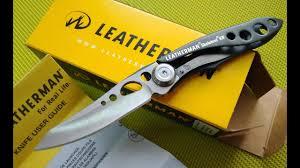 Обзор <b>ножа LEATHERMAN SKELETOOL</b> KB-BLACK - YouTube