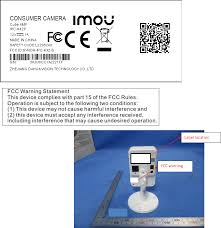 IMOU <b>IPC</b>-K42P Consumer Camera <b>DH</b>-<b>IPC</b>-KX2-B CONSUMER ...