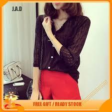 <b>S</b>-<b>2XL Women's</b> Fashion Cotton <b>V</b>-neck Bottoming Shirt Blouse Tops ...