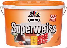 ВД <b>Краска</b> супербелая <b>Dufa SUPERWEISS</b> RD4 / 5л, цена в ...