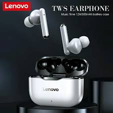 NEW <b>Lenovo LP1 Wireless</b> Earphon Bluetooth 5.0 Dual Stereo ...
