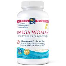 Nordic Naturals <b>Omega Woman</b> Softgels, 500 Mg, 120 Ct - Walmart ...
