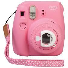 <b>Fujifilm Instax Mini</b> 9 Instant Camera - Flamingo <b>Pink</b> | Best Buy ...