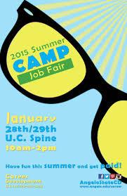 best images about career development flyer summer camp job fair