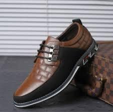 Autumn Casual Leather Shoes <b>British Style</b> Men Shoes, <b>Size</b>:<b>46</b> ...