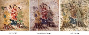 「1972年 - 高松塚古墳で極彩色壁画が発見」の画像検索結果