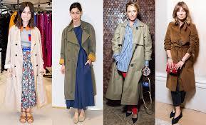 Как носить <b>плащ</b>: модные образы на фото Наташи Гольденберг ...