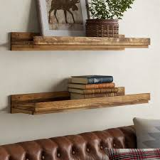 Three Posts Tishie Floating Shelf <b>2</b> Piece <b>Set</b> & Reviews | Wayfair