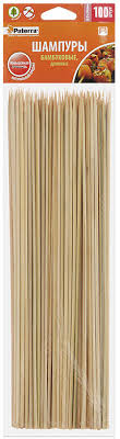 "<b>Шампуры для шашлыка</b> ""<b>Paterra</b>"", бамбук, 30 см, 100 шт — купить ..."