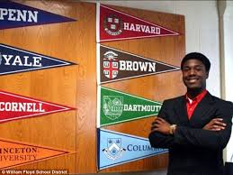 long island student kwasi enin got into every ivy league school  now thats high achievement kwasi enin  a senior at william floyd high school