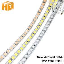 <b>Led</b> Strip 5054 DC12V <b>120Leds</b>/<b>M 5M</b> Flexibele Tape Light Warm ...