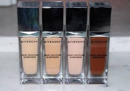 <b>Givenchy Teint Couture Everwear</b> Foundation Review & Swatches ...