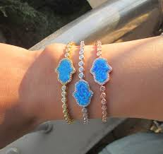 3 colors fine hamsa hand <b>Top</b> quality <b>luxury</b> 2017 blue <b>opal</b> fatimas ...