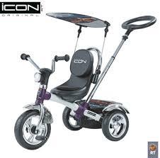 <b>Трехколесный велосипед ICON 4</b> White pearl car - купить по ...