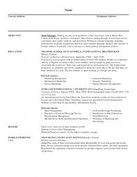 cover letter s and marketing resume examples s and cover letter resume s and marketing executive resume example hotel manager sle s and marketing resume examples