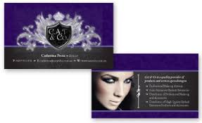 cat co business card for make up artist eyelash professional
