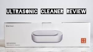 <b>Xiaomi Eraclean Ultrasonic Cleaning</b> Machine Review - YouTube