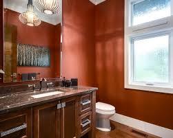 ideas burnt orange: burnt orange wall paint ideas burnt orange wall paint bathroom white toilet charming