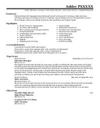Repair Coordinator  Sales Associate Resume Example  M J      Ashley P