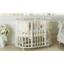 Отзывы о Детская овальная <b>кроватка 7</b> в 1 <b>Incanto Mimi</b>-deluxe
