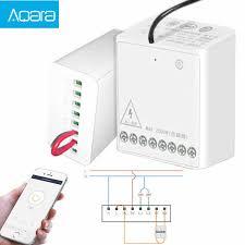<b>Aqara LLKZMK11LM Two way Control</b> Module Wireless Relay ...