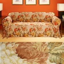 vintage burnt orange furniture