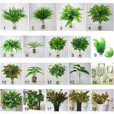 <b>Creative Green</b> Leaves Artificial Grass Fake Monstera Leaf ...