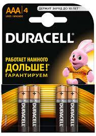Купить <b>батарейку Duracell AAA</b> MN2400, 4 шт. по выгодной цене ...