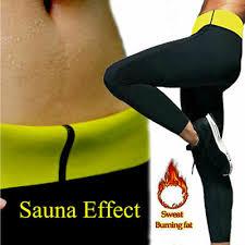 Sauna Suits Hot Sweat Sauna Body Shaper Women <b>Slimming Pants</b> ...