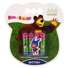 Купить <b>Батарейки</b> мизинчиковые для игрушек «<b>Фотон</b>» - <b>LR03</b> ...