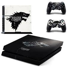 <b>HOMEREALLY Stickers PS4 Skin</b> Classic Game Thrones Winter is ...