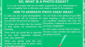 photo essay ideas photo essay ideas