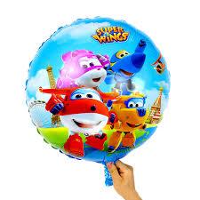 <b>2pcs</b>/<b>lot</b> 18inch Super Wings Balloon Jett balloons Super Wings toys ...