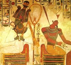 The Egyptian Deity Osiris