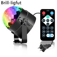 Sound Activated Rotating Disco Ball Party <b>Lights</b> Strobe <b>Light 3W</b> ...
