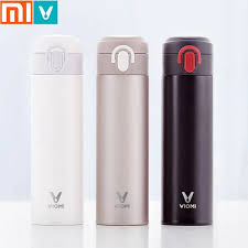 Original Xiaomi Mijia <b>VIOMI</b> Thermos mi Cup Stainless Steel ...